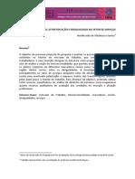 Neville Julio de Vilasboas e Santos - Trabalho, Estratificação e Desigualdade No Setor de Serviços - II Seminário Da FCS