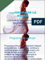 1 Present Programa de La Mujer