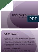 fisiologi kehamilan