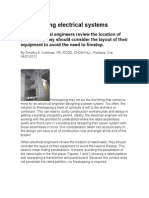 Firestopping Electrical Systems