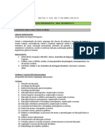 Informatica II Arquitetura Redes Conteudo Programatico