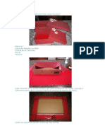 Caixa de Papelão Revestida Com Tecido 2