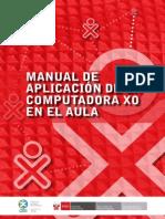 Manual General de Aplicacion de La Computadora XO en El Aula