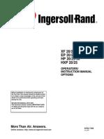 Ingersoll-Rand SSR-EP20 Air Compressor Manual