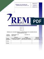Manual de Calidad Para El Laboratorio de Calibracion de Medidores de Gas