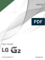 LG G2 D802 User Manual