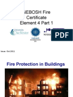 Nebosh Fire Certificate Element 4 Part 1 Issue Oct 2011