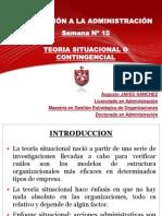 administracion - teoria contingencial
