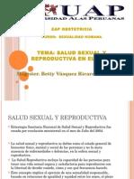 Salud sexual y reproductiva en el Perú