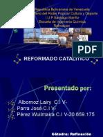Reformado Catalitico