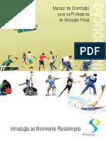 Apostila Para Professores Sobre o Paraolimpismo