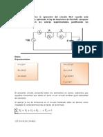 Describa y Analice La Operación Del Circuito RLC Cuando Está Configurado en Serie