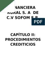 Financiera Rural s
