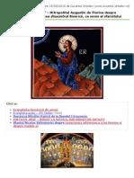 """Cuvântul Ortodox » """"CA TOTI SA FIE UNA…"""" – Mitropolitul Augustin de Florina Despre Dezbinarea Generala Si Cea Dinauntrul Bisericii, CA Semn Al SfarsituluiCuvântul Ortodox » Print"""