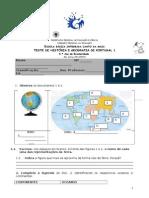 teste história e Geografia de Portugal.