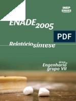 ExameNacional DesempenhoEstudantes ENADE Engenharia de Minas 2005 RelatorioSintese