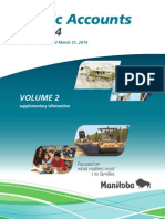 Public Accounts 2013-14 Manitoba