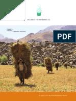 AKF USA 2012 Annual Report (Cover+Spread)