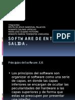 Software de Entrada y Salida