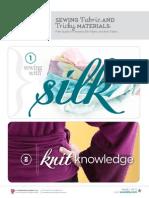 Sewing Fabric eBook Silk