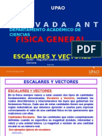 Escalares y Vectores
