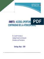 Acc - Minsal