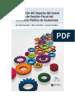 Evaluación del impacto del nuevo Modelo de Gestión Fiscal del Ministerio Público de Guatemala