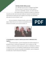 Gobierno de Hugo Rafael chávez