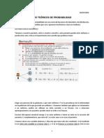 Tema 7.Modelos teóricos de probabilidad (4-3-2015),(9-3-2015),(10-3-2015),(11-3-2015)