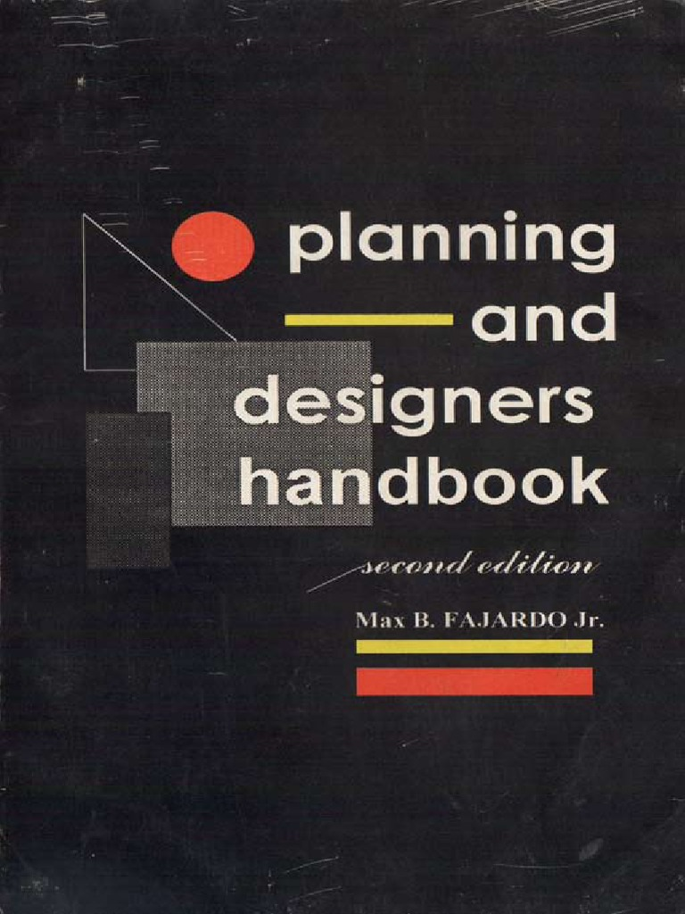 Planning Design Handbook By Fajardopdf