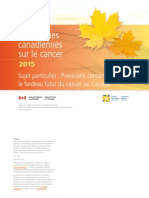 Canadian Cancer Statistics 2015 FR