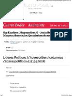 26 05 15 Líderes Políticos