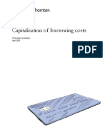 IAS23 Guide--Capitalisation of Borrowing Costs (April 2009)