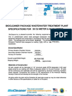 BioCleaner NEW PackagePlantSpecs