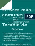 DIEGO Taller Errores Terapia Pareja v3 U Latina