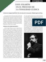Intermezzo 50, Debussy impresionismo