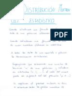 Tema 5 - Distribución Muestral Del Estadístico