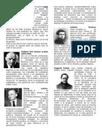 Biografias Cortas de Filosofos