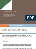 6. INTERCONECTIVIDAD 1 capa de red
