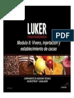 Presentacion Vivero-Injertación y Establecimiento de Caca0 Modulo II