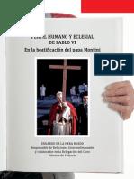Pablo VI. Perfil Humano y Eclesial