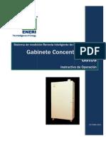 Instructivo Gabinete Concentrador VA12