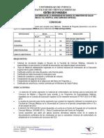 Concurso Especialidades Medicas - 2012