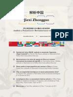 Analisis y Pensamiento Sobre China