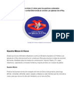 mision & vision ministerial completo