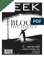 Deek Magazine #2 - The Blood Incident