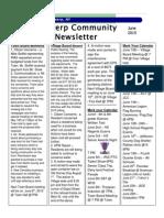 June Newsletter 2015
