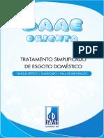 Saae Orienta - Tratamento Simplificado de Esgoto Domstico