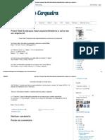 Power Shell Script Para Listar Arquivos_diretórios e Salvar Em Um Arquivo