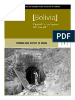 bolivia miners world vision